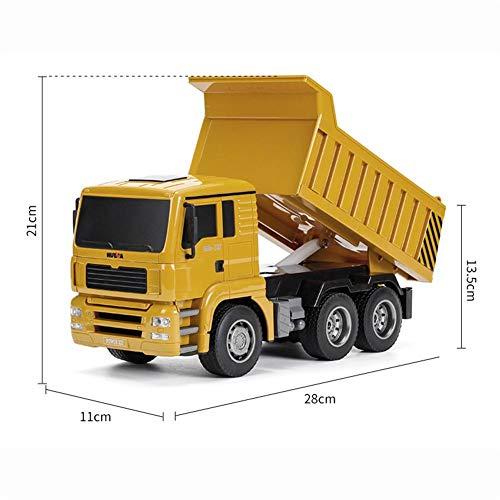 RC Auto kaufen LKW Bild 3: RC-Muldenkipper, 1:16 Allradantrieb-Fernbedienung Muldenkipper-LKW, Schweres Baufahrzeug, Hobby-Spielzeug - Geschenk Für Kinder By globalqi*