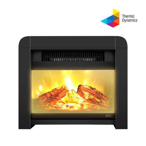Thermic Dynamics Eco Class Heaters EF Estufa Eléctrica de Mica, Blanco, 33x28x16 cm