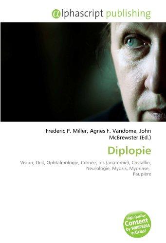 Diplopie: Vision, Oeil, Ophtalmologie, Cornée, Iris (anatomie), Cristallin, Neurologie, Myosis, Mydriase,  Paupière