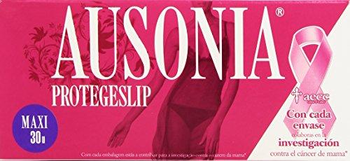 Ausonia - Protege Slips Maxi - Protección íntima de confianza - 30 unidades