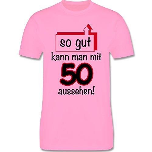Geburtstag - 50. Geburtstag So gut kann man aussehen - Herren Premium T-Shirt Rosa