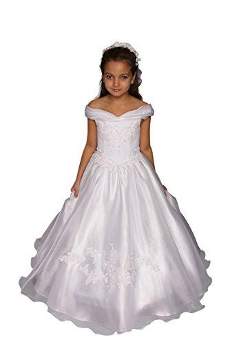 Kinderkleid Kommunion - Kommunionkleid - Modell K5100 (140)