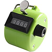 Dosige 4 Digit Hand Tally Counter Mini Color Press Manual Counter Flow Statistics Counters