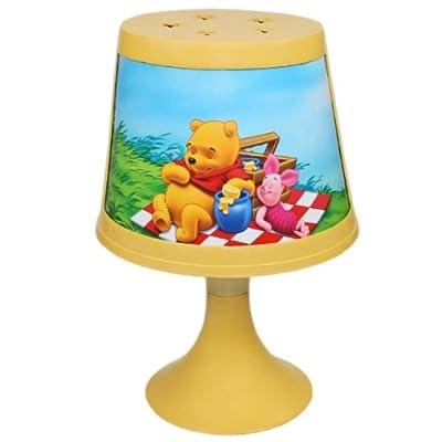 DISNEY WINNIE POOH Kinderlampe 29cm (A) Nachttischlampe Nachtlicht Tischlampe Stehlampe Kinder von Disney auf Lampenhans.de