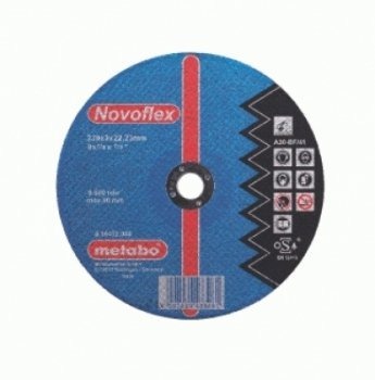 Preisvergleich Produktbild Metabo Novoflex Stahl, 150 x 3,0 x 22,2, 616448000