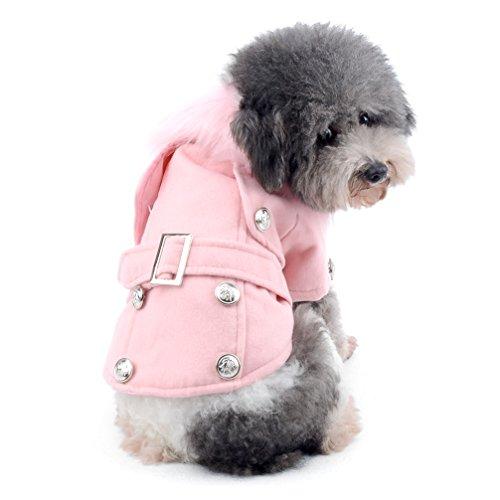 ranphy Shih Tzu Kleidung Hund Schlafanzüge Western Style Sweatshirt Gepolsterte Pet Cat Winter Coat Cod Wetter Coats Doggy Kleidung
