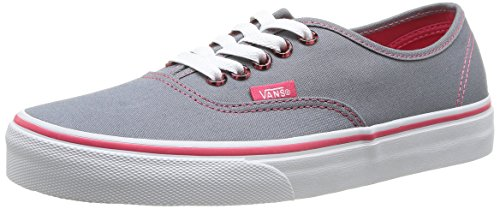 Vans U Authentic - Baskets Mode Mixte Adulte Gris (Monument/Azalea)