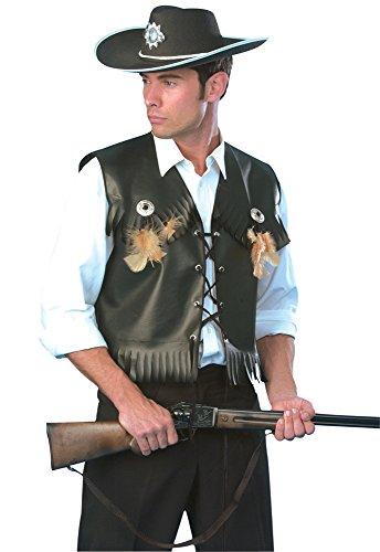 (Bristol Novelty ac344Cowboy Weste Kostüm (UK Brust Größe 42–Blumenkasten))