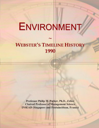 Environment: Webster's Timeline History, 1990