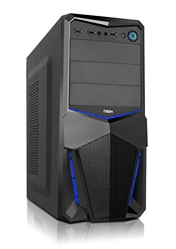 Especificaciones Nox PaxCaja PC ATX Azul. Te presentamos en Opirata la gama de torres de NOX . En este caso la PAX una elegante caja de color negro con un acabado brillante en su parte frontal. Se trata de una cajade reducidas dimensiones pero ...