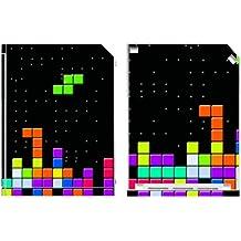 "'Disagu Design Skin para Nintendo Wii pie–Diseño Tetris No. 2"""