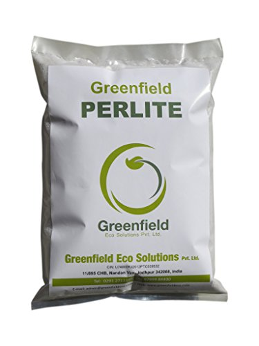 Greenfield PERLITE for Green Roofs/Roof Gardens Tissue Culture Hydroponics Container growing Floriculture (especially roses) Home and Interior Gardens Nursery stocks Interiorscapes Ornamental plants Horticulture Vegetables Shrubs Fruit trees Xerophytes Seed germination Root cuttings Potting mixes Landscaping Turf Lawns Golf courses etc. 300Gms