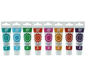 Rainbow Dust ProGel Professional Food Colouring Set - Summer Colours by Rainbow Dust