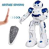 SGILE Robot Telecomandato Giocattolo Intelligenti di Robot Cantare Ballare Camminare per Ragazzi Bambini Ragazze Blu