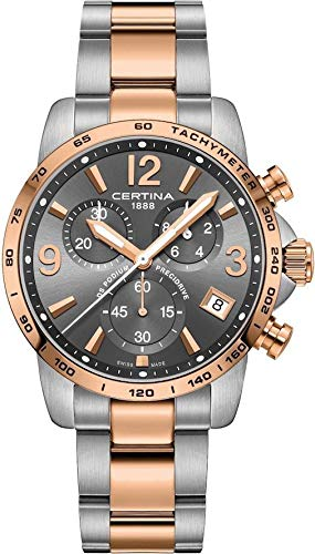 Mens Certina DS Podium Precidrive Chronograph Watch C0344172208700