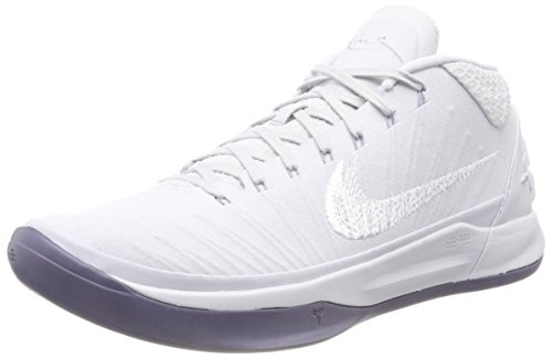 wholesale dealer 5d38f 963ad Nike Kobe Ad, Scarpe da Fitness Uomo, Multicolore (Pure Platinum White-
