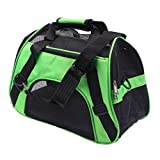 Feidaeu Pet Backpack Cat Dog Carrier Multifunción Portátil Conveniente, Ajustable, Plegable Y Paquetes Transpirables Pequeño Bolso para Mascotas