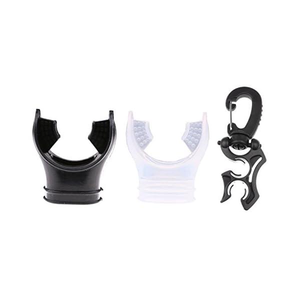 boccaglio per regolatore standard Mold unisex Immersione boccaglio in silicone immersioni boccaglio morbido e confortevole di ricambio