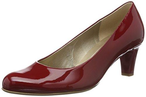 Gabor Damen Basic Pumps Rot (cherry (+Absatz) 75)