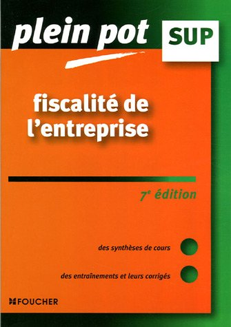 Fiscalité de l'entreprise : Enseignement supérieur, BTS, DUT tertiaires