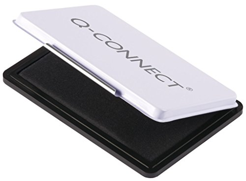 Q-Connect KF16315 Stempelkissen 9 x 5,5cm schwarz