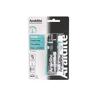 Araldite Rapid Set 2-Part Epoxy Adhesive Crystal 2 x 15ml