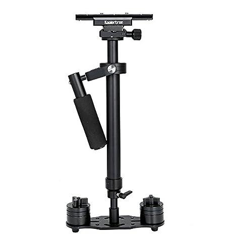 Koolertron H-40 60cm / 15.75in Mini Hand Kamera Stabilisator Schwebestativ Stabilizer mit Schnellwechselplatte 1/4