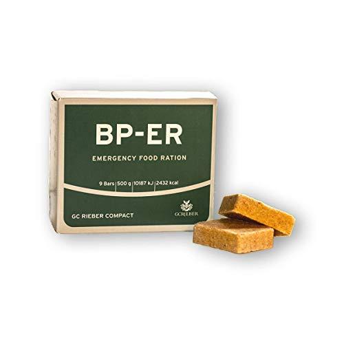 BP ER Elite Emergency Food 500 Gramm Einheit Langzeitnahrung für Outdoor, Camping, Survival und in Krisensituationen (mit BPA-freier Innen-Verpackung)