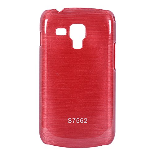 iCandy Hard PC Shiny Back Cover For Samsung Galaxy S Duos S7562 / S Duos 2 S7582 - Red  available at amazon for Rs.109