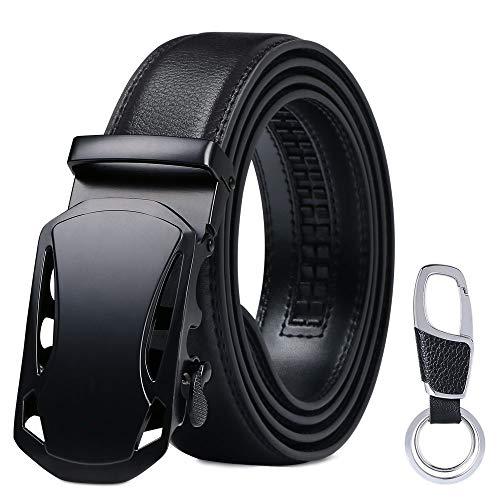 flintronic  Cinturón Cuero Hombre, Cinturones Piel con Hebilla...