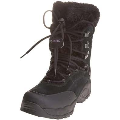 Hi-Tec Women's ST. Moritz 200 Black/Clover Snow Boot F000328/021/01 4 UK