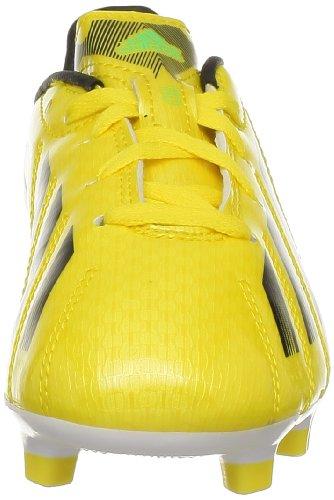 adidas Performance F10 TRX FG J G65352 Jungen Fußballschuhe Gelb (VIVID YELLOW S13 / BLACK 1 / RUNNING WHITE FTW)
