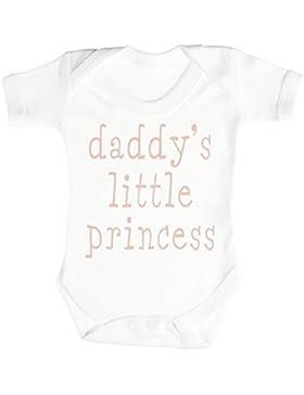 SR - Daddy's Little Princess Baby Strampler - Baby Body Suit - Baby Jungen Strampler - Baby Mädchen Strampler...