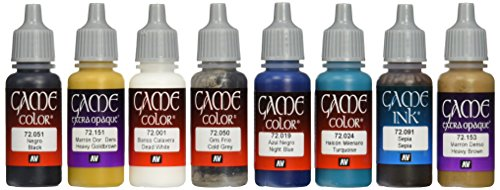 Vallejo Game Color Painting Set (Set Of 8)