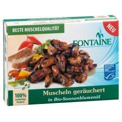 Fontaine Muscheln, geräuchert (110 g)