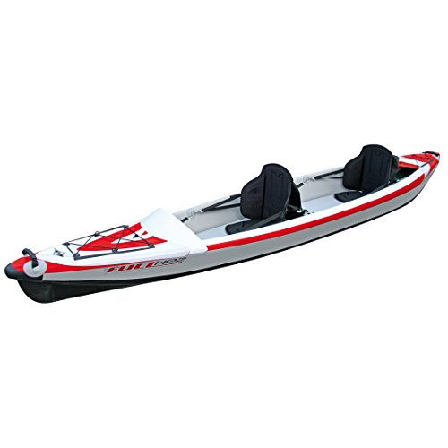 BIC Sport Yak Kair Full HP Inflatable Kayak - by surferworld, 410 cm