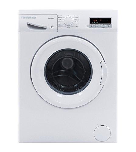 Telefunken TFW4421FC2 Waschmaschine FL / A++ / 171 kWh/Jahr / 1200 UpM / 6 kg / 9900 L/Jahr / LED Display / weiß
