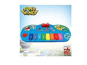 CLAUDIO REIG- Órgano Electrónico Súper Wings, Multicolor (2115)