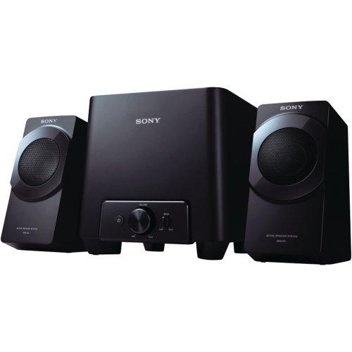 SONY SRSD4 2.1 Multimedia Speaker (Black)