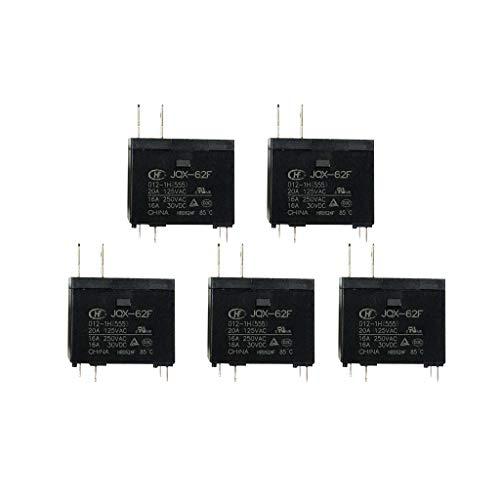 B Blesiya 5pcs Wasser-Heizung-Relais 16A Kontaktschaltfähigkeit Mikrowelle Relais - Heizung Wasser Mikrowelle