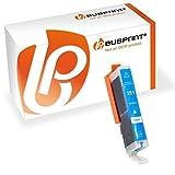Bubprint Druckerpatrone kompatibel für Canon CLI 551 XL Y CLI-551XL 551XL für Pixma IP7250 IP8750 IX6850 MG5450 MG6450 MG6650 MG7550 MX920 MX925 Cyan