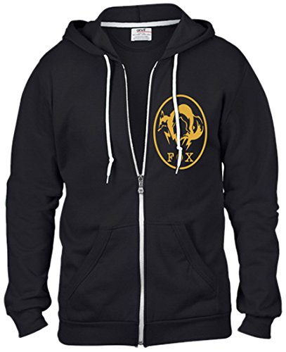 Metal Gear Solid V Ground Zeroes Hooded Felpa Sweater FOX Size M Gaya Entertainment