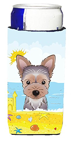 yorkie-puppy-summer-beach-michelob-ultra-koozies-for-slim-cans-bb2100muk