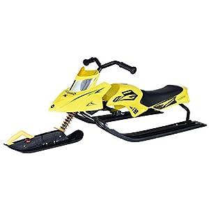 Sunzy Kinderschlitten Motorschlitten Winter im Freien Ski Spielzeug mit Bremslast 200LP geeignet für Erwachsene und Kinder