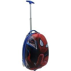 Marvel Spiderman Maleta Equipaje de viaje de color rojo y azul infantil Funda Talla:19in/49cm