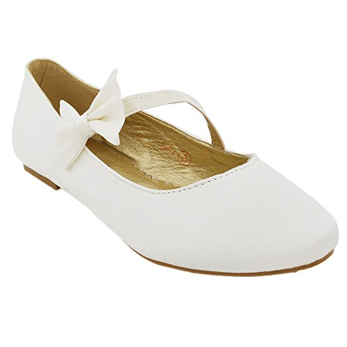 NEW WOMENS PUMPS FLAT BOW GLITTER LADIES BALLET BALLERINA DOLLY BRIDAL SHOES SIZE 3-9