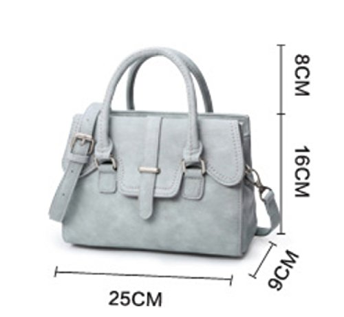 KUWOMINI.Women Bags Tutti I Sacchetti Di Stagione Del Sacchetto Insieme Con Per L'oro Bianco Casuale All'aperto Bianco Nero Blu Pink