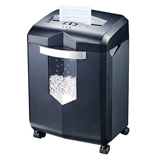 Bonsaii EverShred C149-C 18-Sheet Paper Shredder, Cross-Cut Paper/CD/Credit Card Shredder, 60 Mintues Continuous Running Time, Draw-out 23 Litre Wastebasket Capacity,...