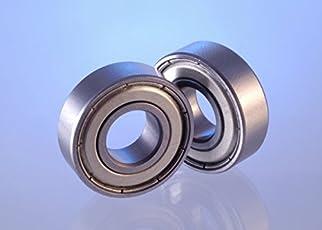 Invento 2pcs 6903 ZZ 17x30x7mm for 17mm Rod Radial Ball Bearings- Robotics/DIY Projects