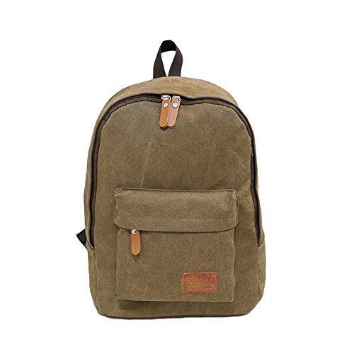 Imagen de  de lona, big volume bolsa de tela hombreras  bolsa para portátil bolsa escolar  al aire libre de ocio casual
